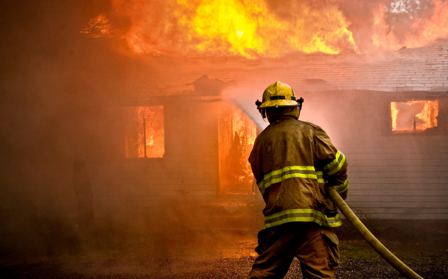 Steps to Ensure Safe Firefighter Decontamination After a Fire