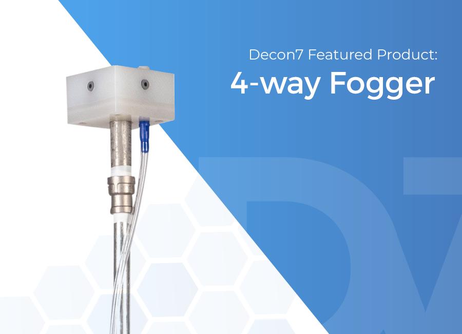 4-way fogger - Decon7