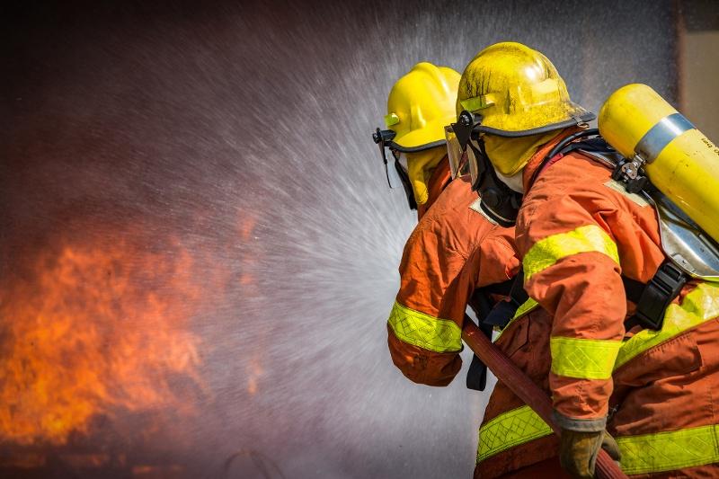 Firefighter Turnout Gear Decontamination