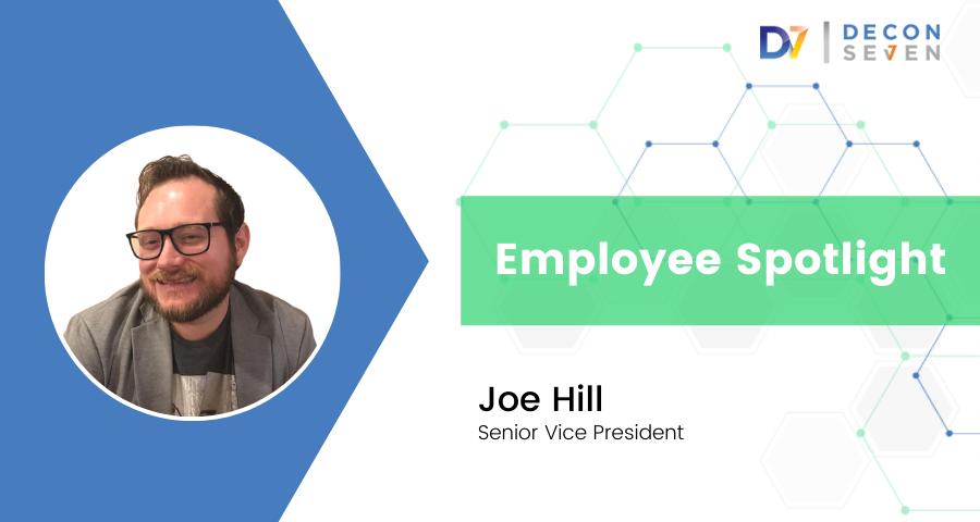 decon7 employee spotlight joe hill